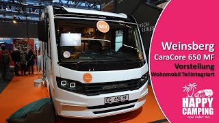 CMT 2020 - Wohnmobil Vorstellung Weinsberg CaraCore 650 MF | Happy Camping