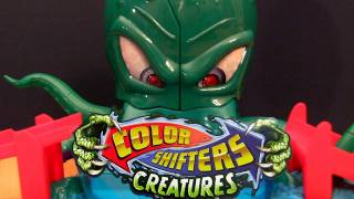 Octo Battle Playset Color Shifters Creatures HOT WHEELS cars from Mattel Colour Changers toys