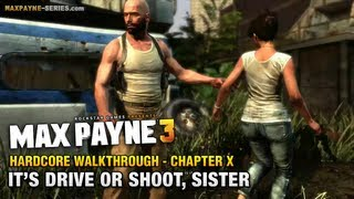Max Payne 3 - Hardcore Walkthrough - Chapter 10 - It
