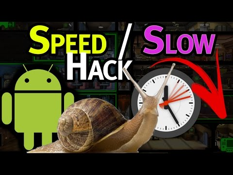 How to Slow Down / Speed Up Android Games (Speedhack Tutorial)