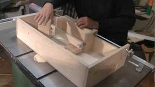 Making A Box Joint Jig - A Woodworkweb.com Woodworking Video