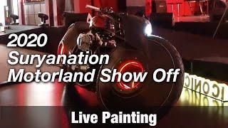 Motorcycle Art Part 90 / 2019 Suryanation Motorland Show Off