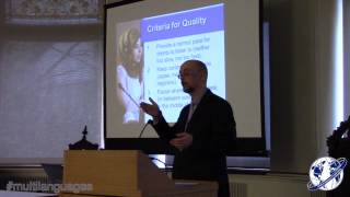 Dr. Andrew Clifford: Striving For Simo - Multi-languages Annual Conference 2013