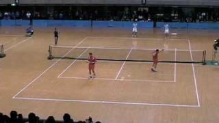 第46回東京インドア 全日本ソフトテニス大会 男子決勝3 佐々木洋介 検索動画 24
