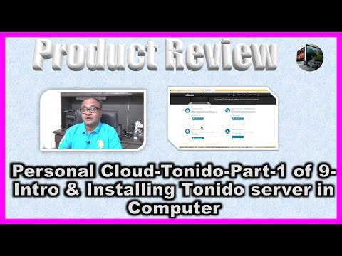 Tonido-Personal Cloud for Free-Part-1 of 9-Installing Tonido Server in a Computer
