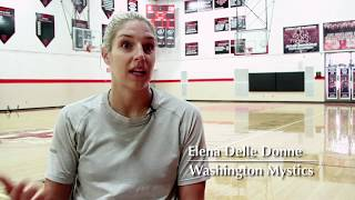 All-Access: Elena Delle Donne Works Out At Her High School