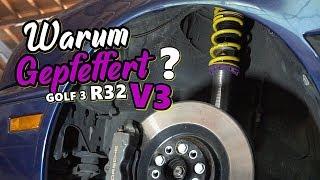 WARUM EIN GEPFEFFERT V3 IM GOLF 3 R32 ?? / BARSTUNINGTV