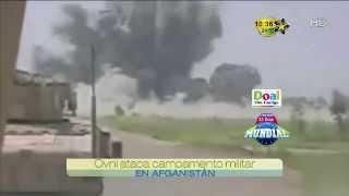 Ovni ataca a militares