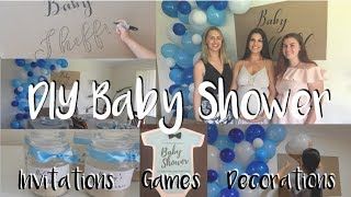Cheap, Quick & Easy Baby Shower Diy's   Invitations, Decorations, Games & More!