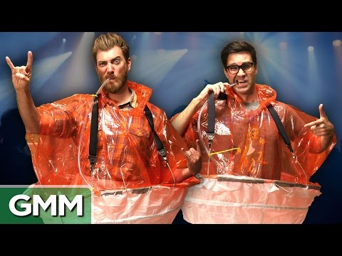 Testing the Concert Poncho