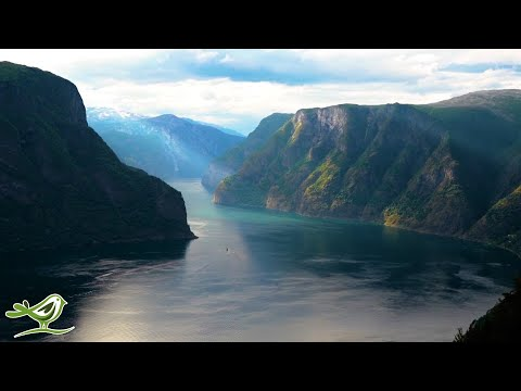 Beautiful Relaxing Music: Norway's Nature, Violin Music, Flu