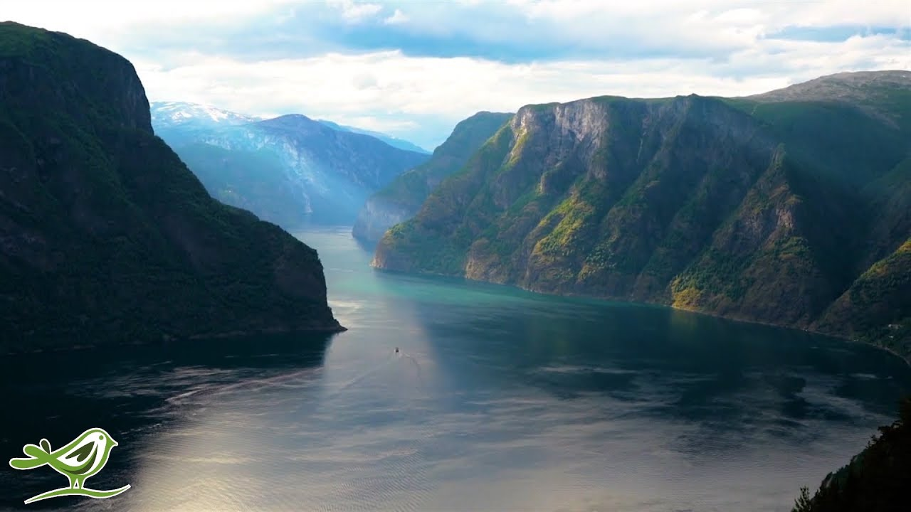Beautiful Relaxing Music: Norway's Nature, Violin Music, Flute Music, Piano Music, Harp Music ★