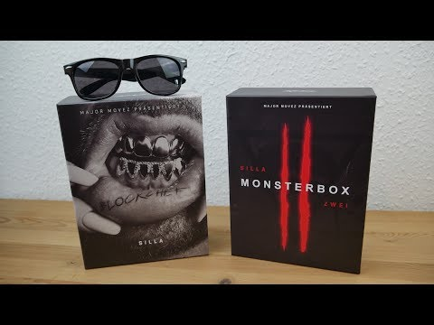 SILLA - BLOCKCHEF - MONSTERBOX (Ltd. Fan Edt.) UNBOXINGS