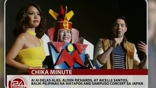 24 Oras: Alden Richards, miss na miss na raw si Maine Mendoza