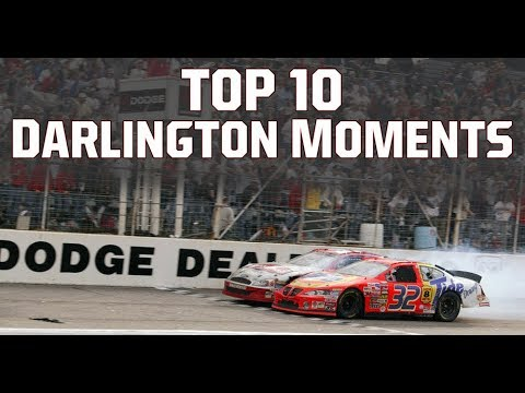 NASCAR Countdown: Top 10 Darlington Raceway Moments
