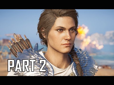 Download ASSASSIN'S CREED ODYSSEY Walkthrough Part 2 - Penelope's Shroud (Let's Play Commentary)