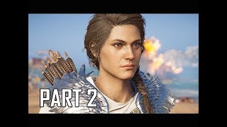 ASSASSIN'S CREED ODYSSEY Walkthrough Part 2 - Penelope's Shroud (Let's Play Commentary)