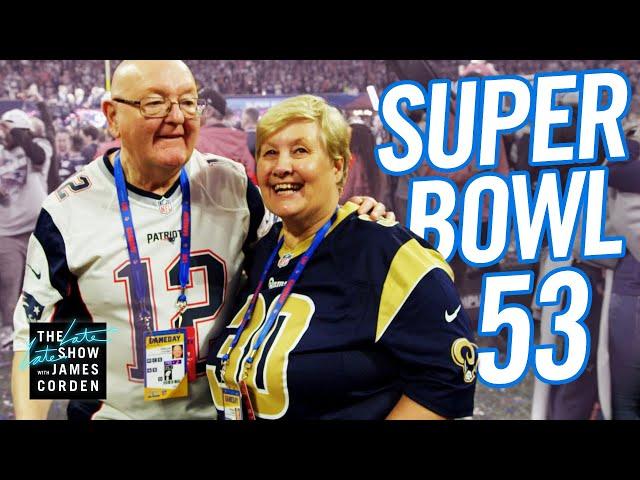 James Corden's Parents Hang w/ Adam Levine, NeNe Leakes & Super Bowl Champs