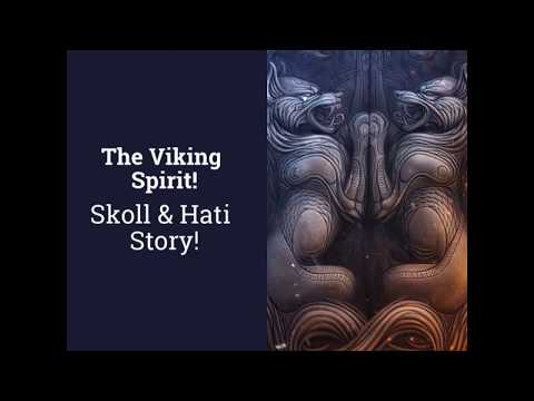 Viking Wolves Skoll and Hati Story - VikingsBrand.com