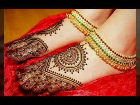 Mehndi Legs Images : Beautiful mehndi designs for legs foot heena