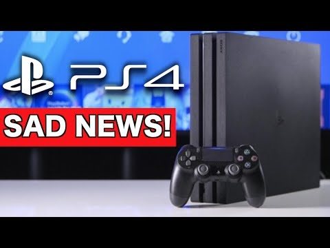 SAD NEWS for PS4 Online Accounts! (Gaming News)