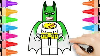 How to Draw LEGO Batman Joker | DC Superheroes | Coloring Pages