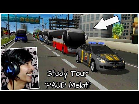 Pengawalan 8 Bus Study Tour Paud Melati Ke Jakarta !!! / AAG Police Simulator Android