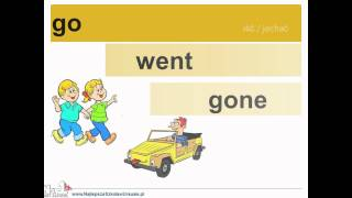 Learn English Online - irregular verb forms - video support ...