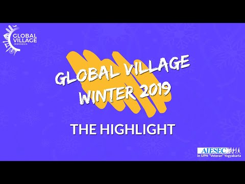 The Highlight of Global Village Winter 2019 (Aftermovie)