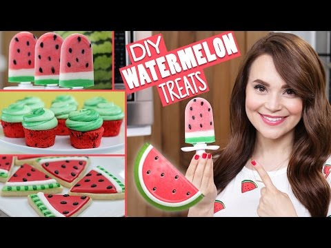 Download Youtube: DIY WATERMELON TREATS!
