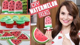 DIY WATERMELON TREATS!