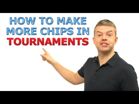 Poker Tournament Strategy: How To Get More Chips!