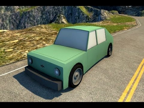 Beamng Drive Mod Dsc Toy Car Crash Test Youtube