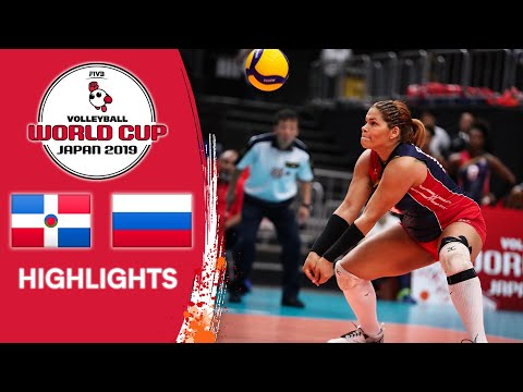 DOMINICAN REPUBLIC vs. RUSSIA - Highlights | Women's Volleyball World Cup 2019