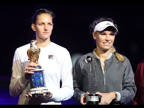 2017 Qatar Total Open Final | Karolina Pliskova vs Caroline Wozniacki | WTA Highlights