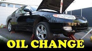 Toyota Camry V6 Oil Change
