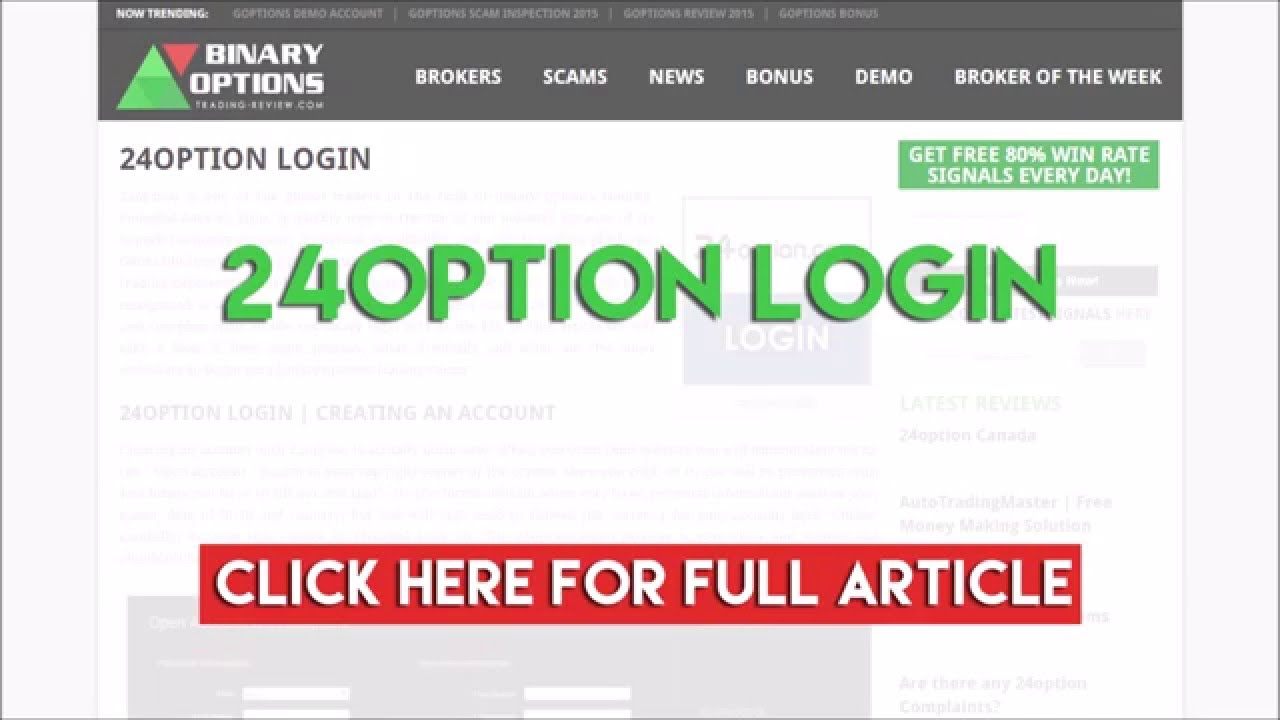 24option Login