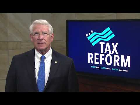 Wicker Praises Senate Tax Cut Plan