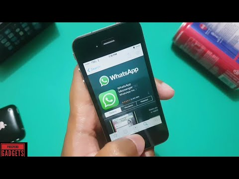Cara Install Whatsapp Di IPhone 4-iOS 7.1.2