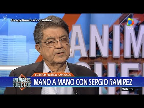 """Sergio Ramírez en """"Animales sueltos"""" de A.Fantino (completo HD) - 26/09/17"""