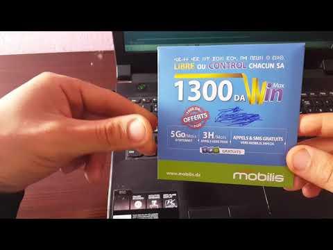 تجربتي مع شريحة MOBILIS LA WIN MAX 1300  مكالمات مجانية نحو موبيليس  .