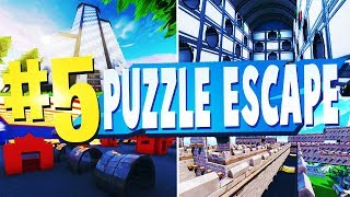 TOP 5 BEST PUZZLE ESCAPE MAP CODES In Fortnite | Fortnite Puzzle Escape Maps (WITH CODES)