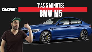 Gambar cover T'AS 5 MINUTES : LA BMW M5 !