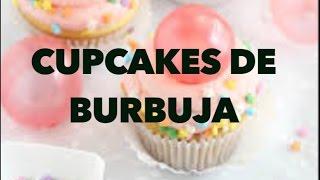 CUPCAKES DE BURBUJA. EXPECTATIVA/REALIDAD