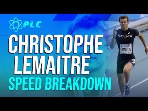 Christophe Lemaitre 100 Meter Sprint Breakdown