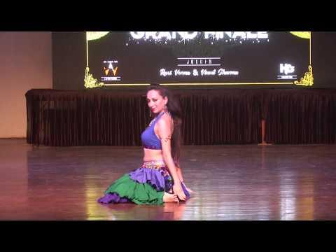 SR. SOLO - NICKITA KUMAR | FINALIST | BELLY | PRATYANGA | INDIA'S BIGGEST DANCE CHAMPIONSHIP |