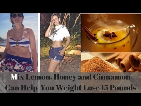 Mix Lemon, Honey and Cinnamon Can Help You Weight Lose 15 Pounds | How To Weight Loss Fast