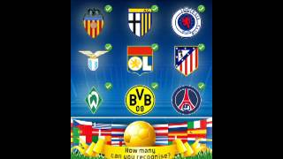 Football Logo Quiz Answers Level 1