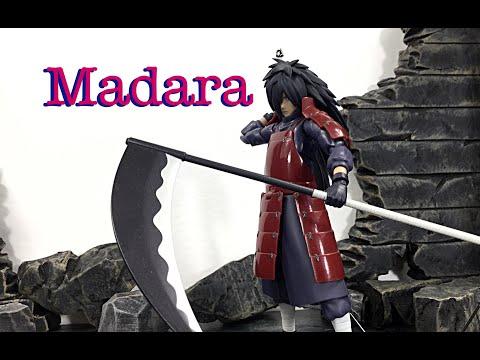Bandai Tamashii Nations SH Figuarts Naruto Shippuden MADARA UCHIHA Action Figure Review Toy Review