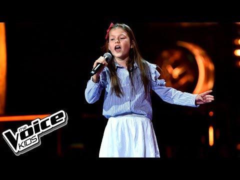 "Ola Piotrowska – ""I Want You Back"" – Przesłuchania w ciemno – The Voice Kids Poland"